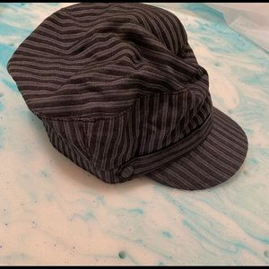 Black and grey hat